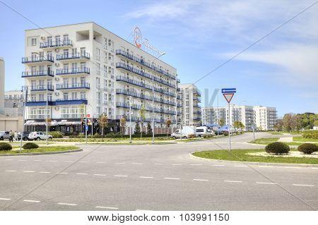 Adler. Imeretinsky District. Marine Boulevard