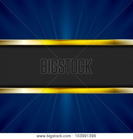 Dark abstract corporate background. Vector design