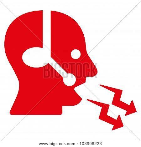 Operator Shout Icon