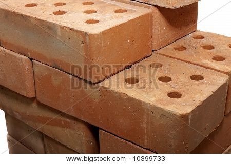 pile of red brick