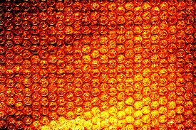 foto of bubble sheet  - air bubble sheet texture for background use - JPG