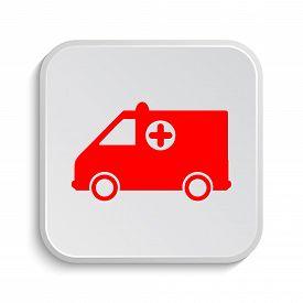pic of ambulance  - Ambulance icon - JPG