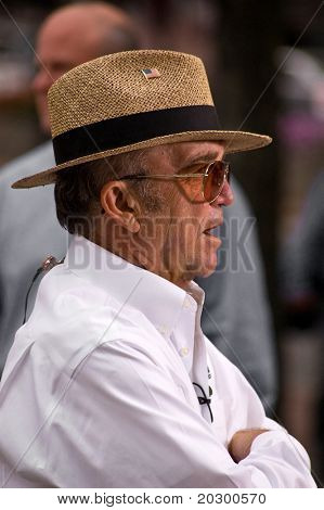 BOSTON USA - SEPTEMBER 17TH: Jack Roush at Promotional event for NASCAR on September 17th, 2010 in Boston USA.