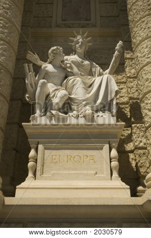 Statue Of Europa
