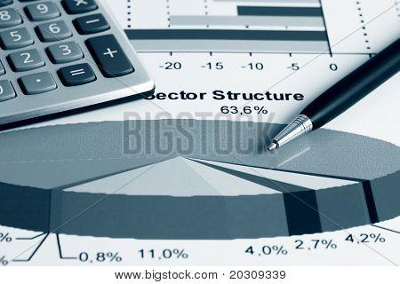 Estrutura do setor de mercado de ações.