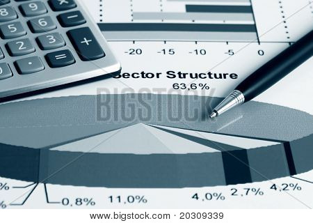 Aktienmarkt Sektorstruktur.