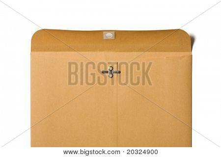 Back of a large open envelope