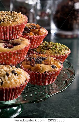assorted cup cakes
