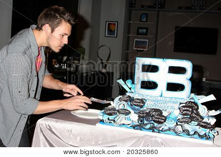 LOS ANGELES - MAY 17:  Scott Clifton at the Bold & Beautiful Celebration of their Emmy Nominations at CBS Television City on May 17, 2011 in Los Angeles, CA
