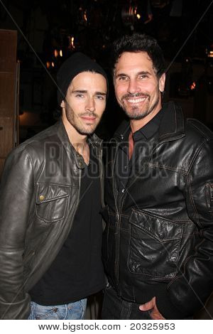 LOS ANGELES - MAY 17:  Brandon Beemer, Don Diamont at the Bold & Beautiful Celebration of their Emmy Nominations at CBS Television City on May 17, 2011 in Los Angeles, CA