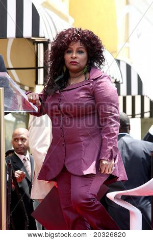 LOS ANGELES - MAY 19:  Chaka Kahn at the Chaka Kahn Hollywood Walk of Fame Star Ceremony at Hollywood Blvd on May 19, 2011 in Los Angeles, CA
