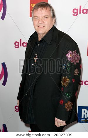 LOS ANGELES - APR 10: Meat Loaf arrives at the 22nd annual GLAAD Media Awards at Westin Bonaventure Hotel on April 10, 2011 in Los Angeles, CA.