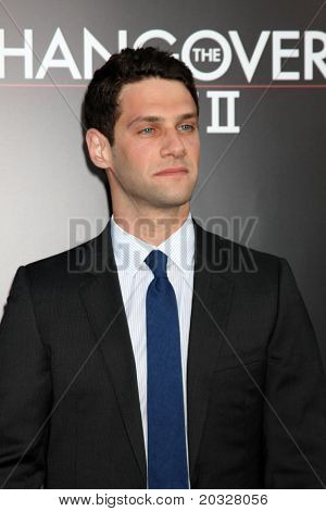 LOS ANGELES - MAY 19:  Justin Bartha arriving at the