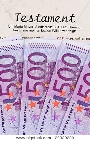 Euro notes and wills