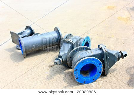 Water mains