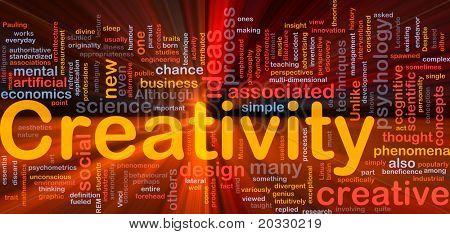 Background concept illustration Creativity creative mental glowing light