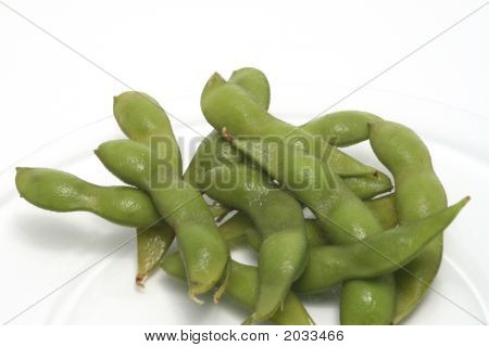 Edinome (Soy Beans) On A Plate