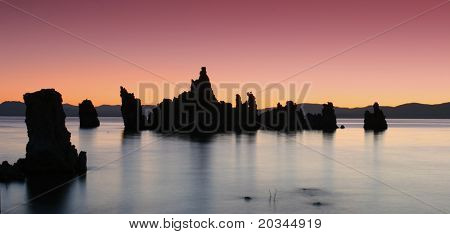 Tufas at Sunrise, Mono Lake, California