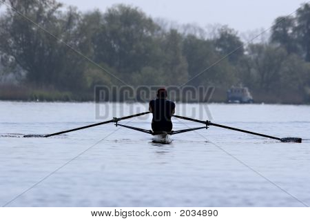 Rowing Man