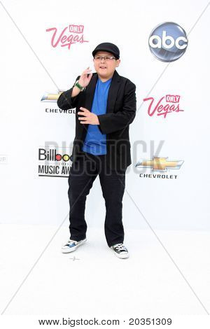 LAS VEGAS - MAY 22:  Rico Rodriguez arriving at the 2011 Billboard Music Awards at MGM Grand Garden Arena on May 22, 2010 in Las Vegas, NV.