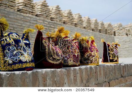 Uzbek National Headdresses
