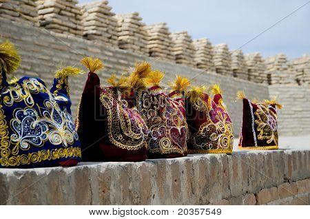 Uzbek National Headdresses