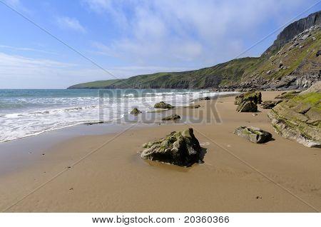 Porth Ceiriad Beach