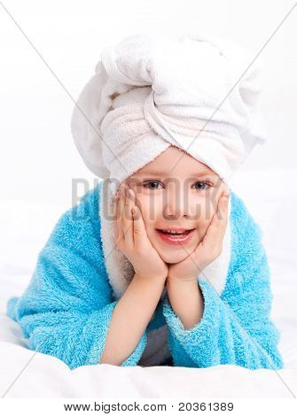 Child After The Shower
