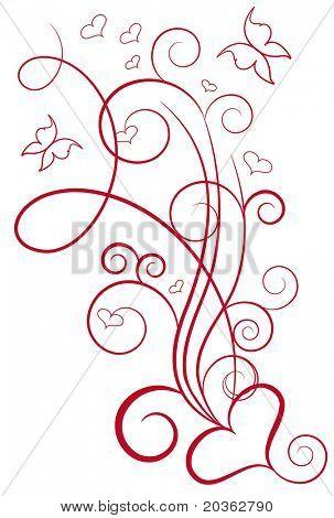 Elegante Valentin design
