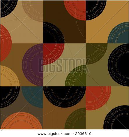 Retro Circles N Cubes