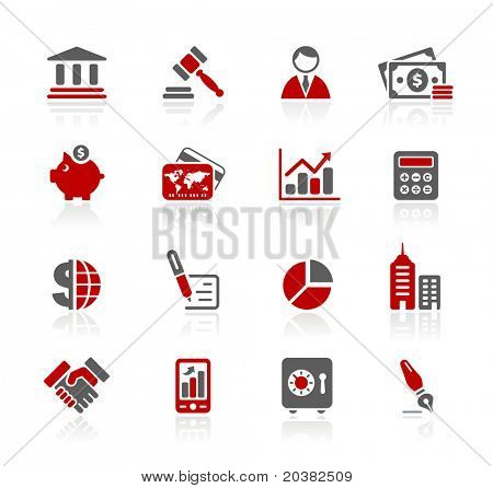 Business & Finance Web Icons // Redico Series