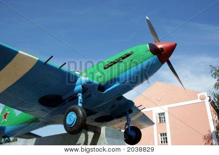 Propeller-Driven War-Plane.
