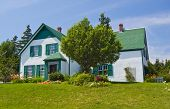 Green Gables Heritage Farm, shot a bright Sunny Day in Cavendish poster