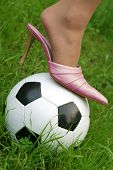 stiletto on football