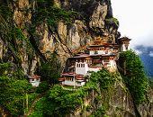 Paro Taktsang (tiger Nest) In Bhutan poster