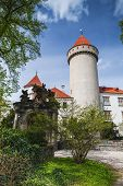 Постер, плакат: Castle Konopiste Czech Republic Summer Day