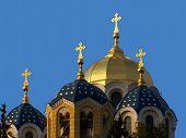 Постер, плакат: Владимирский собор Православная церковь Г Киев Украина