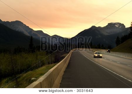 Driving In Rockies