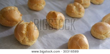 Handmade Cream Puffs