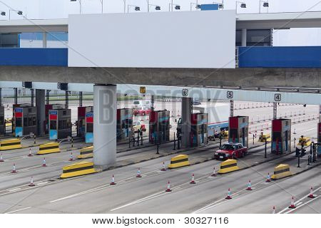 toll station