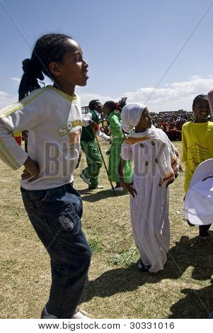 Ethiopian Children Dancing