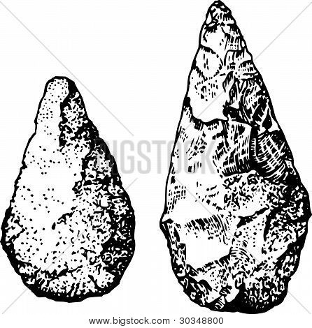 Ancient stone tools