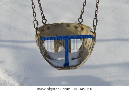 Empty Children Swing.