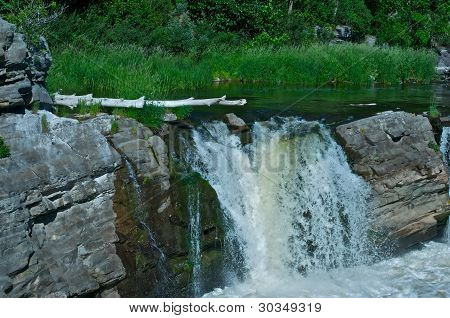 The Small Waterfall.