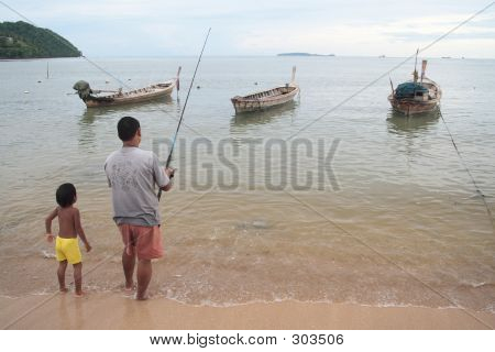 Fisherman And His Child