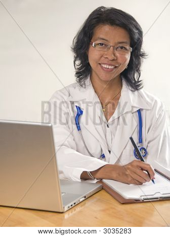 Asian Woman Doctor