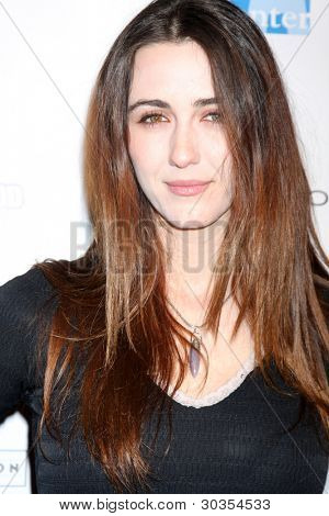 LOS ANGELES - FEB 19:  Madeline Zima arrives at the 2nd Annual Hollywood Rush at the Wilshire Ebell on February 19, 2012 in Los Angeles, CA.