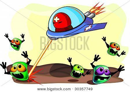 antibakterielle Wirkung