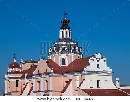 St Casimir Church In Vilnius Lithuania