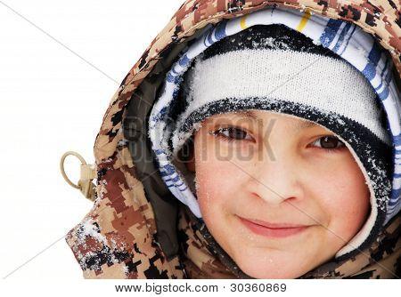 Boy Winter Portrait